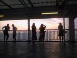 東海汽船からの夕焼け