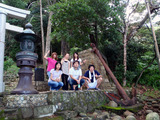 稲根神社 バイキング号記念碑
