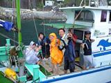 三宅島へのチャーター漁船