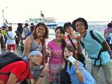 御蔵島 集合写真