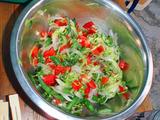 カルパッチョ風サラダ