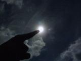 満月の夜 ETごっこ