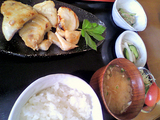 御蔵島ランチ・目鯛定食