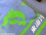 東海汽船の毛布