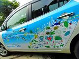 御蔵島 電気自動車