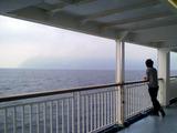 御蔵島へ向かう東海汽船