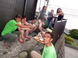 御蔵島 BBQ