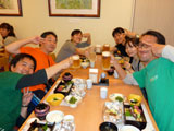 御蔵荘の夕食