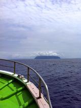 御蔵島へ向かう