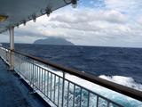 御蔵島へ向かうさるびあ丸