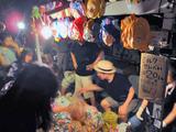 御蔵島夏祭り夜店