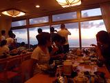 御蔵島の美しい夕焼け