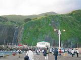 御蔵島に到着