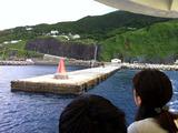 御蔵島赤灯台