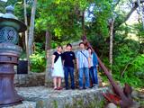 稲根神社のバイキング号記念碑
