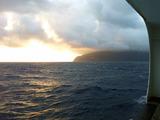 御蔵島の朝