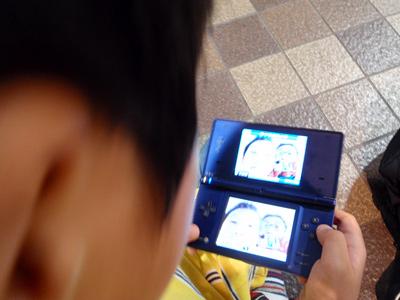 DSで写真撮ろう!