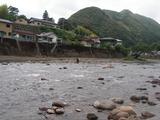 一ツ瀬川の鮎釣り (4)