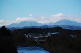 24日初雪が降った九重連山 (3)