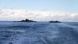 大風でだったけどベタ凪の島野浦の沖磯