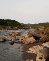 川辺川の鮎釣りポイント