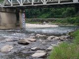 一ツ瀬川の鮎ポイントと自分が釣った村所橋周辺 (5)