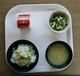 1227の病院の朝食