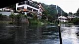 天降川の鮎釣り (1)
