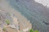 小丸川に泥水が (2)