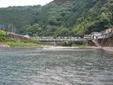 一ツ瀬川の鮎ポイントと自分が釣った村所橋周辺 (3)