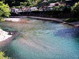 村所発電所の放水口より下流 (1)