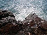 足下から沖に向かって潮は出ていたのですが・・・