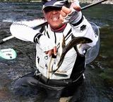 8月10日に一ツ瀬川で釣った鮎