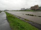26日の三隈川 ・かんぽ前