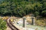 五十匁の瀬の鉄橋