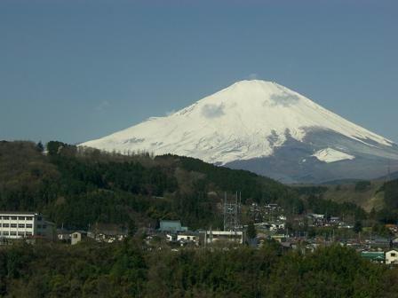 富士は日本一の山!