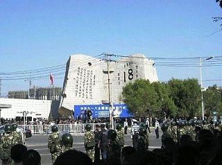遼寧省瀋陽の「9・18歴史博物館」で行われた式典[2012/09/18]