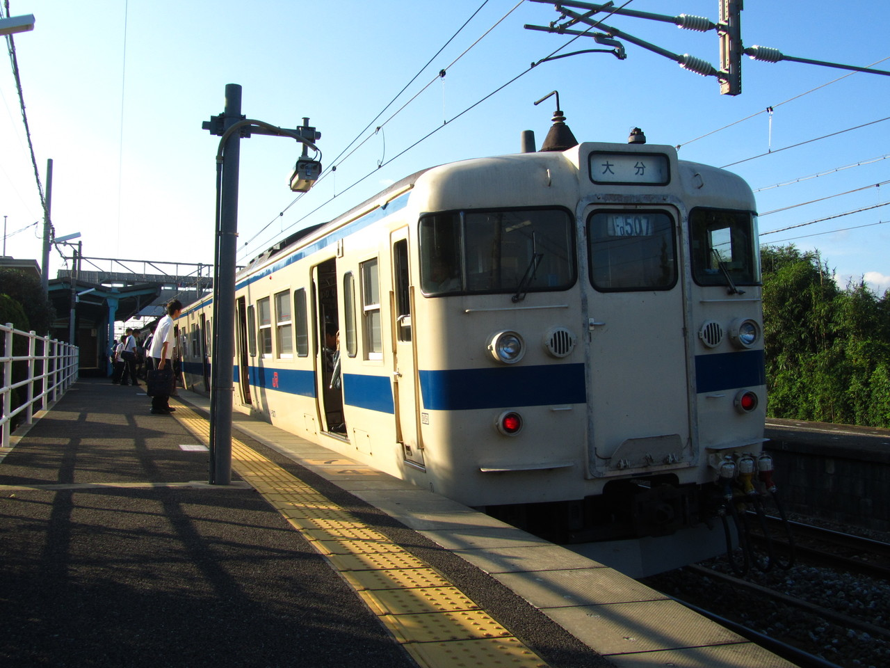 18旅2013夏・駅舎巡り、久大本線...