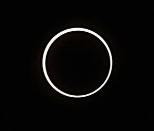 金環日食20120521