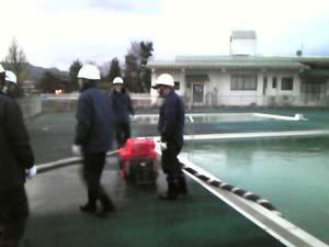 消防実践訓練1