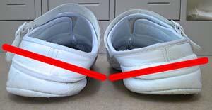不良品靴1
