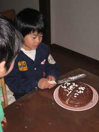 長男誕生日3