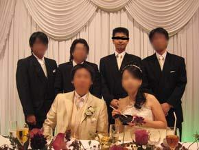 友人結婚式6