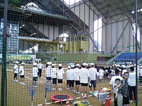 松岡修造テニスクリニック4