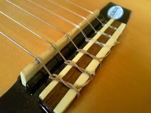 クラシックギター弦交換2