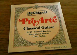 クラシックギター弦交換4
