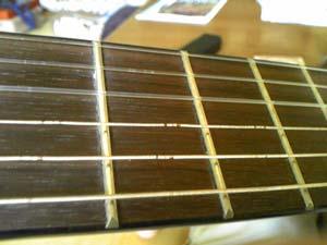 クラシックギター弦交換3