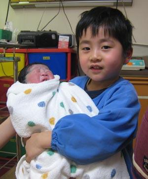 第3子出産2