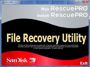 サンディスク Rescue-Pro1
