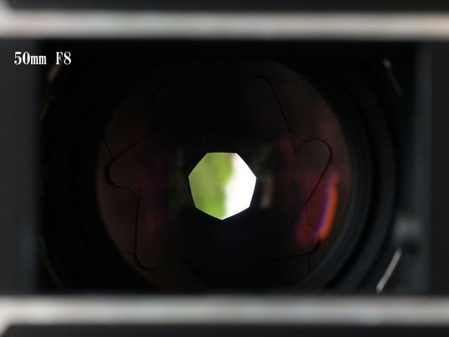 50mm F8